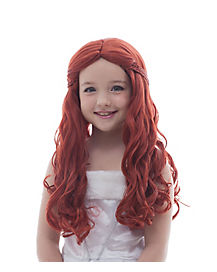 Medieval Princess Auburn Wig