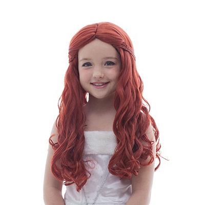Auburn Medieval Princess Wig