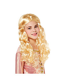 Kids Blonde Princess Wig