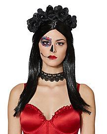 Black Rose Wig