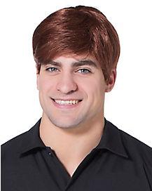 Classic Brunette Male Wig