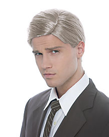 Comb Over Silver Fox Wig