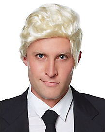 Handsome Blonde Male Wig