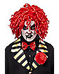 Sinister Red Clown Wig