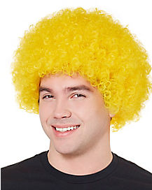 Basic Yellow Afro