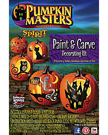 Carve and Paint Pumpkin Decorating Kit