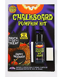 Chalkboard Pumpkin Kit
