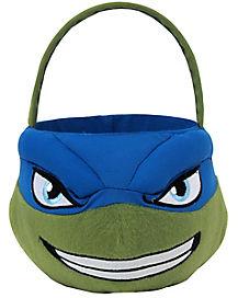 TMNT Leonardo Plush Bucket