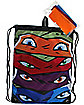 TMNT Mask Cinch Bag - Teenage Mutant Ninja Turtles