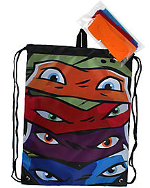 Teenage Mutant Ninja Turtles Mask Cinch Bag