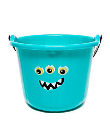 Blue Monster Treat Bucket