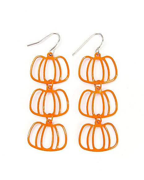 Ci 3 tier pumpkin earrings for 3 tier pumpkin decoration