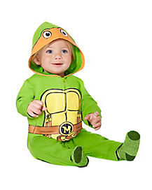 TMNT Michelangelo Coverall Infant Costume