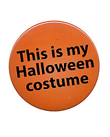 Halloween Costume Button