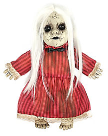 Animated Red Rosie Haunted Doll - Decorations