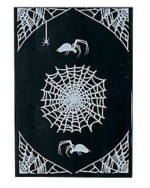 Large Spiderweb Decal
