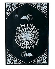 Large Spiderweb Decal