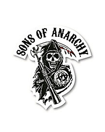 SOA Car Decal - Sons of Anarchy