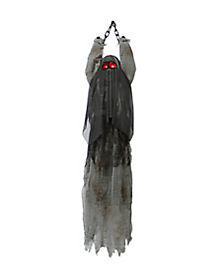 4.5 ft Animated Hanging Vibrating Shadow Ghost - Decorations