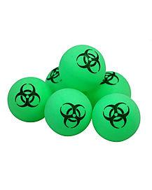 Biohazard Pong Balls