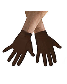 Brown Mens Gloves