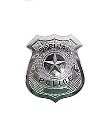 Deluxe Metal Police Badge