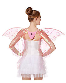 Pink Shreddy Butterfly Wings
