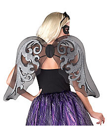 Black Gothic Fairy Wings