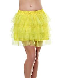 Tutu Skirt - Yellow