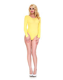 Yellow Long Sleeve Bodysuit