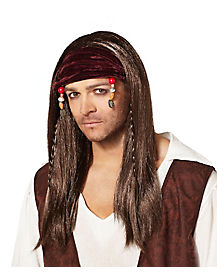 Mens Pirate Wig