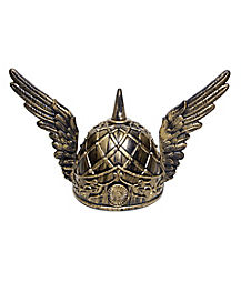 Bronze Helmet with Wings