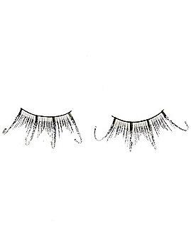 Black Glam Glitter False Eyelashes
