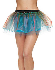 Iridescent Adult Tutu Skirt