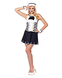 Adult Sassy Sailor Costume
