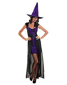 Adult Glitzy Witch Costume