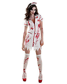 Killer Caregiver Adult Zombie Costume