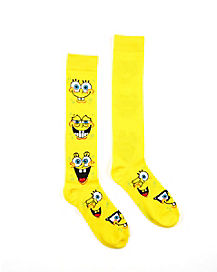 Spongebob Squarepants Knee High Socks - Nickelodeon