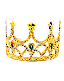 Sparkling Gold Tiara With Stone