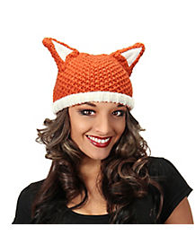Fox Knit Beanie