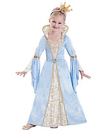 Kids Regal Renaissance Queen Costume