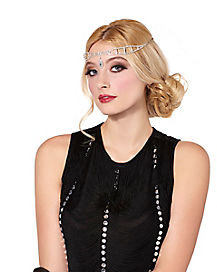 20s Rhinestone Head Chain