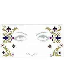 Mediveal Face Tatto Decals