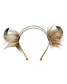 Viking Horn Headband