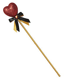 Glitter Queen of Hearts Wand