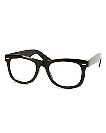 50s Mens School Nerd Glasses