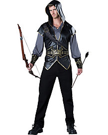 Hooded Huntsman Adult Mens Costume