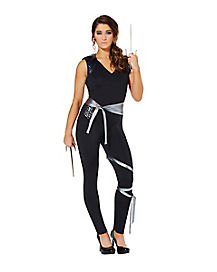 Adult Stealth Ninja Jumpsuit Costume