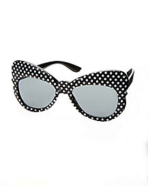 Bow Polka Dot Glasses