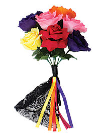 Day of the Dead Multi Color Bouquet
